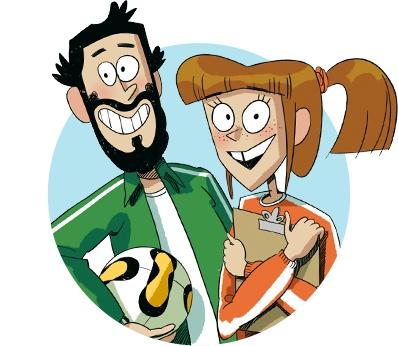 Alicia y Felipe - Los Futbolísimos