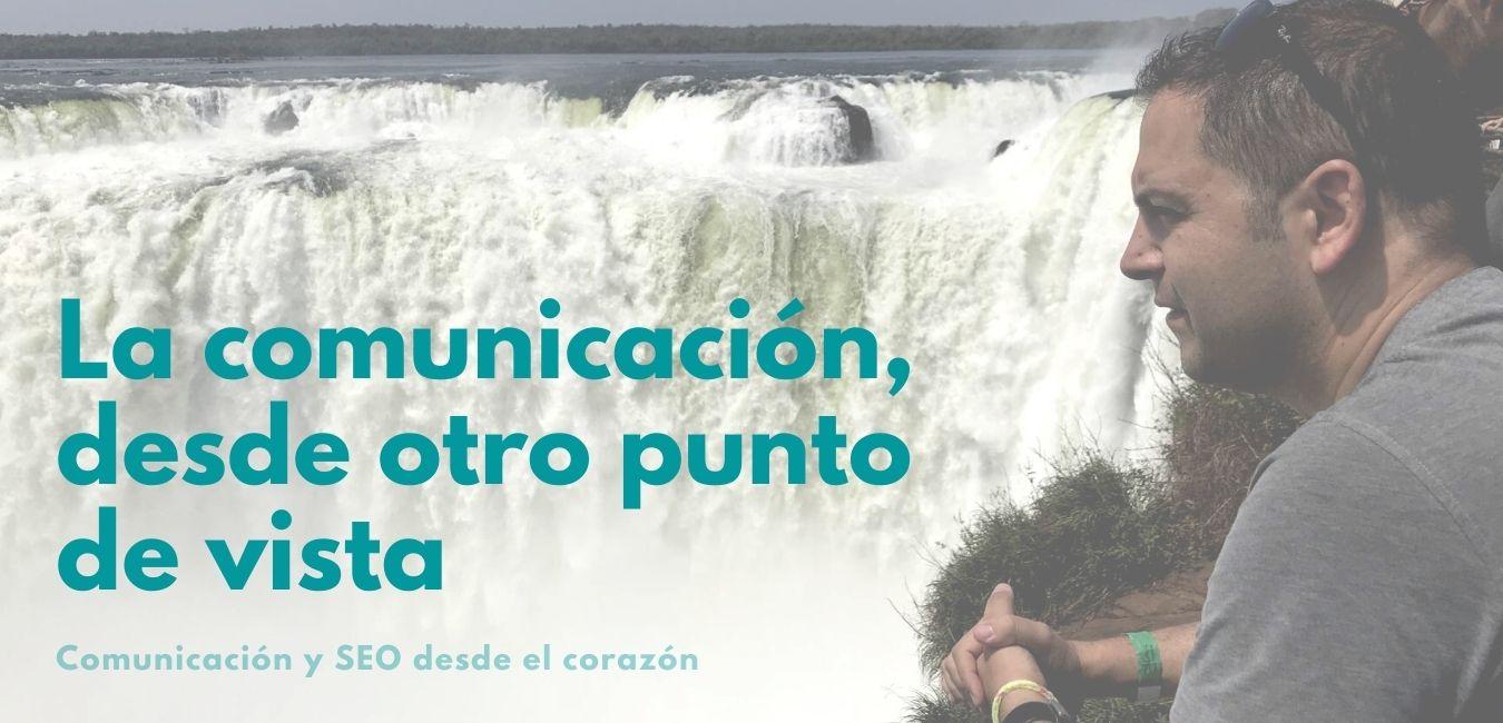 Chema Sánchez, con las cataratas de Iguazú de fondo
